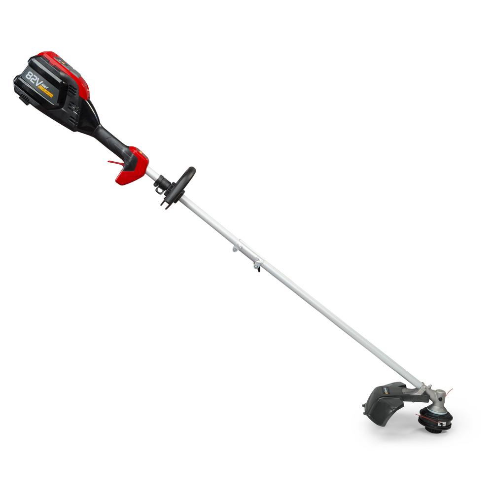 82-Volt Max Lithium Ion Cordless String Trimmer Kit - Battery and