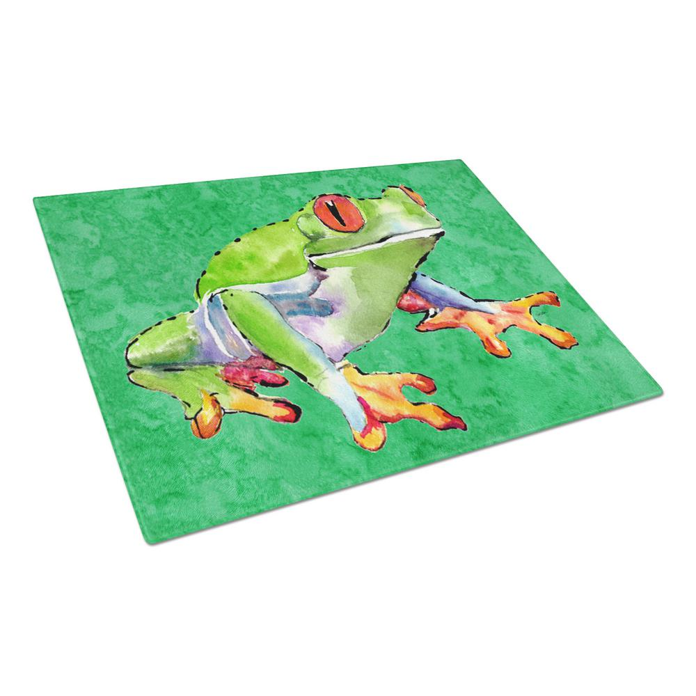 Frog Tempered Glass Large Cutting Board