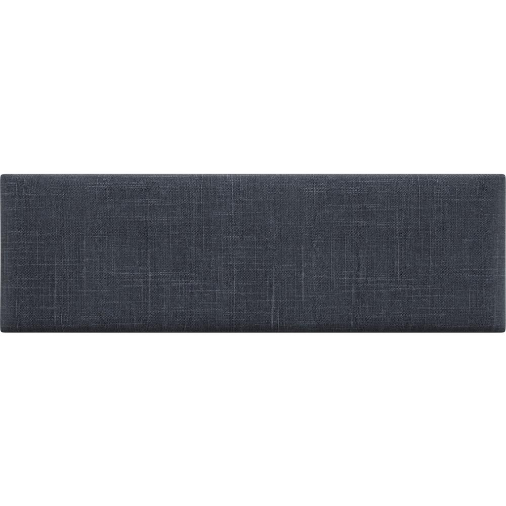 Cotton Weave Midnight Blue Twin-King Upholstered Headboards/Accent Wall Panels