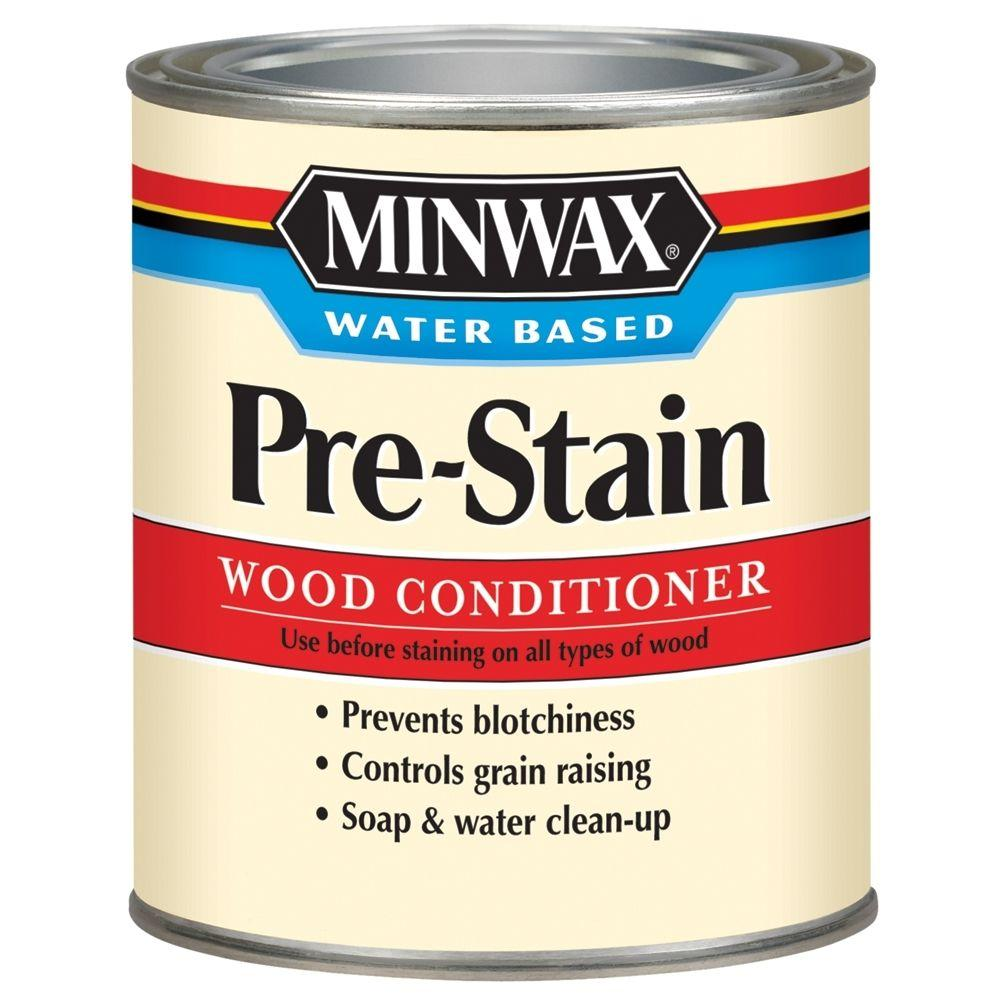 Minwax 1 qt. Water Based Pre-Stain Wood Conditioner