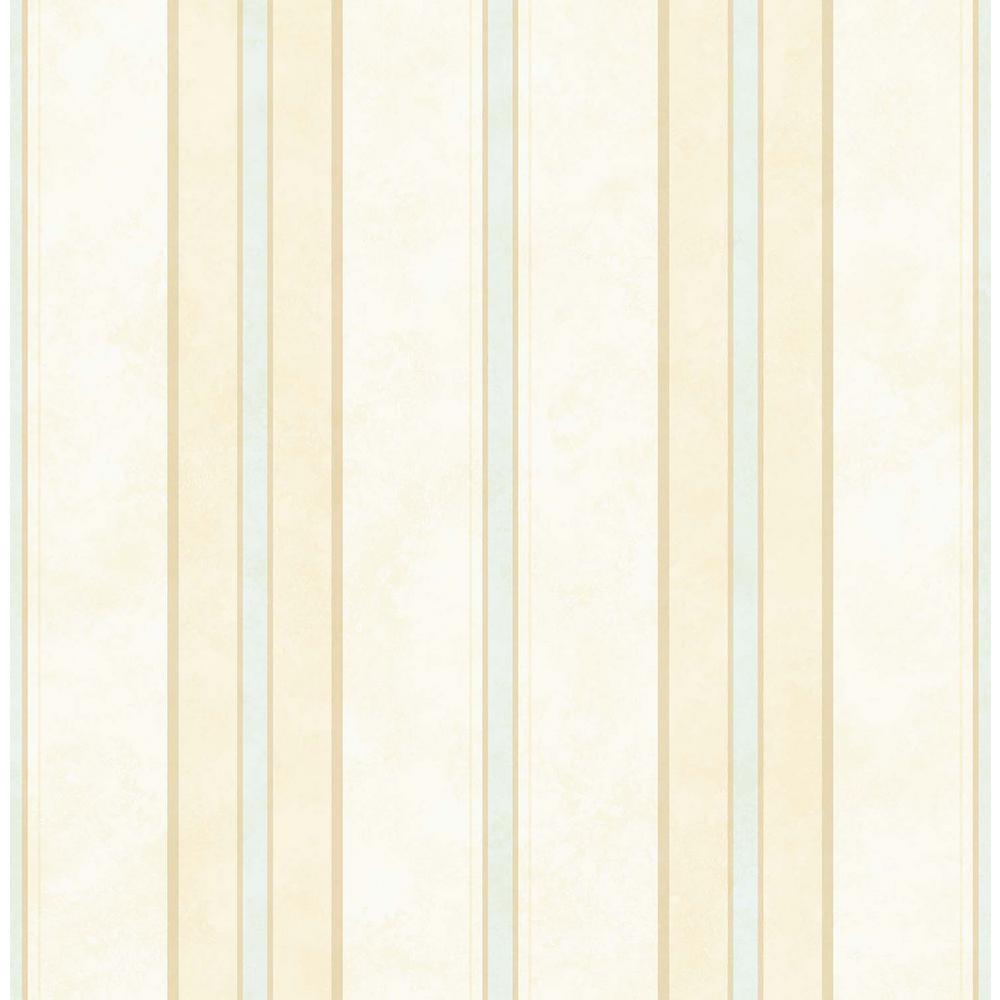 Annabelle Blue Stripe Wallpaper