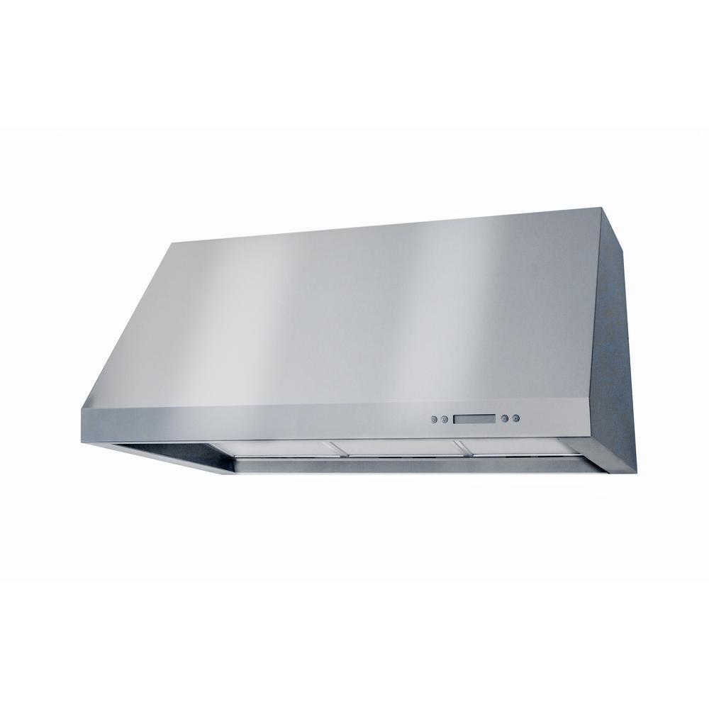 Lazio 36 in. Wall Mounted Pro-Style Range Hood in Stainless Steel