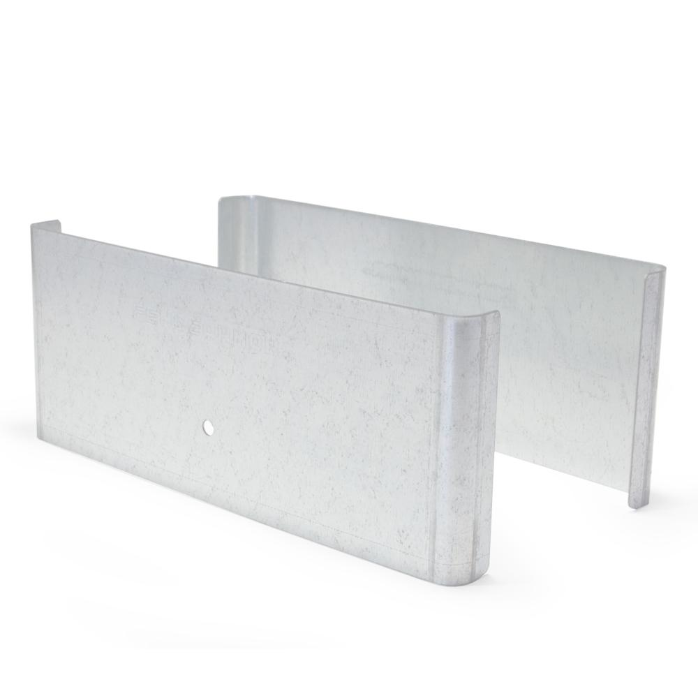 Fence Armor Galvanized Steel Demi Fence Post Guard 7.5 In