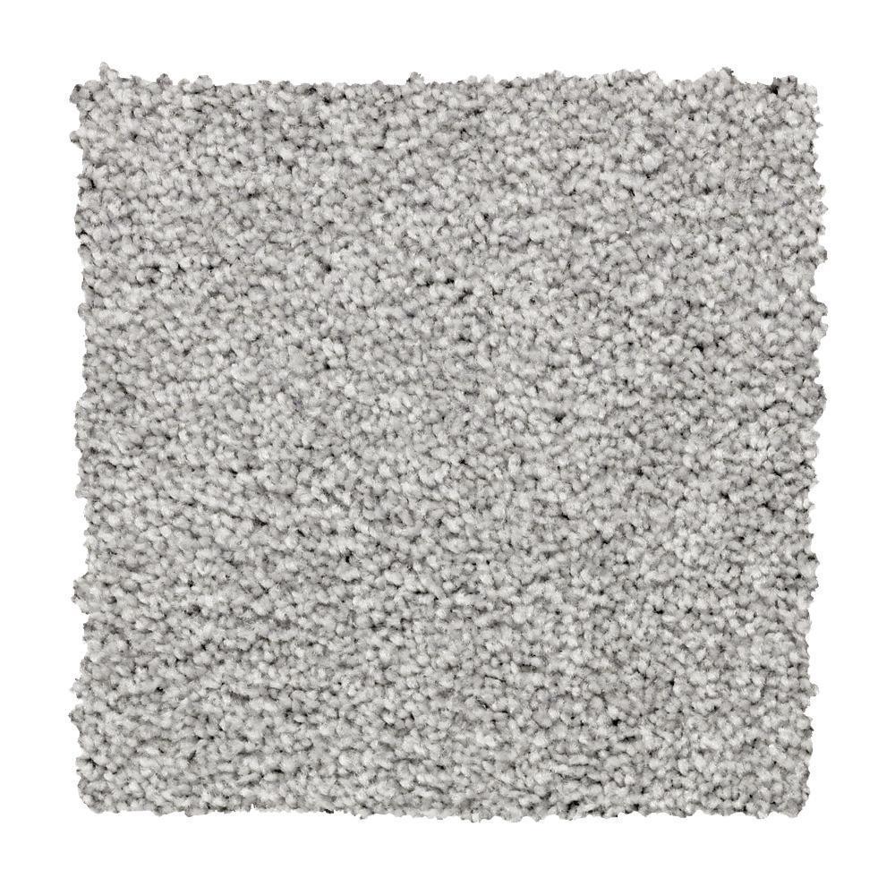 Carpet Sample - Silver Mane II - Color Bonita Textured 8 in. x 8 in.