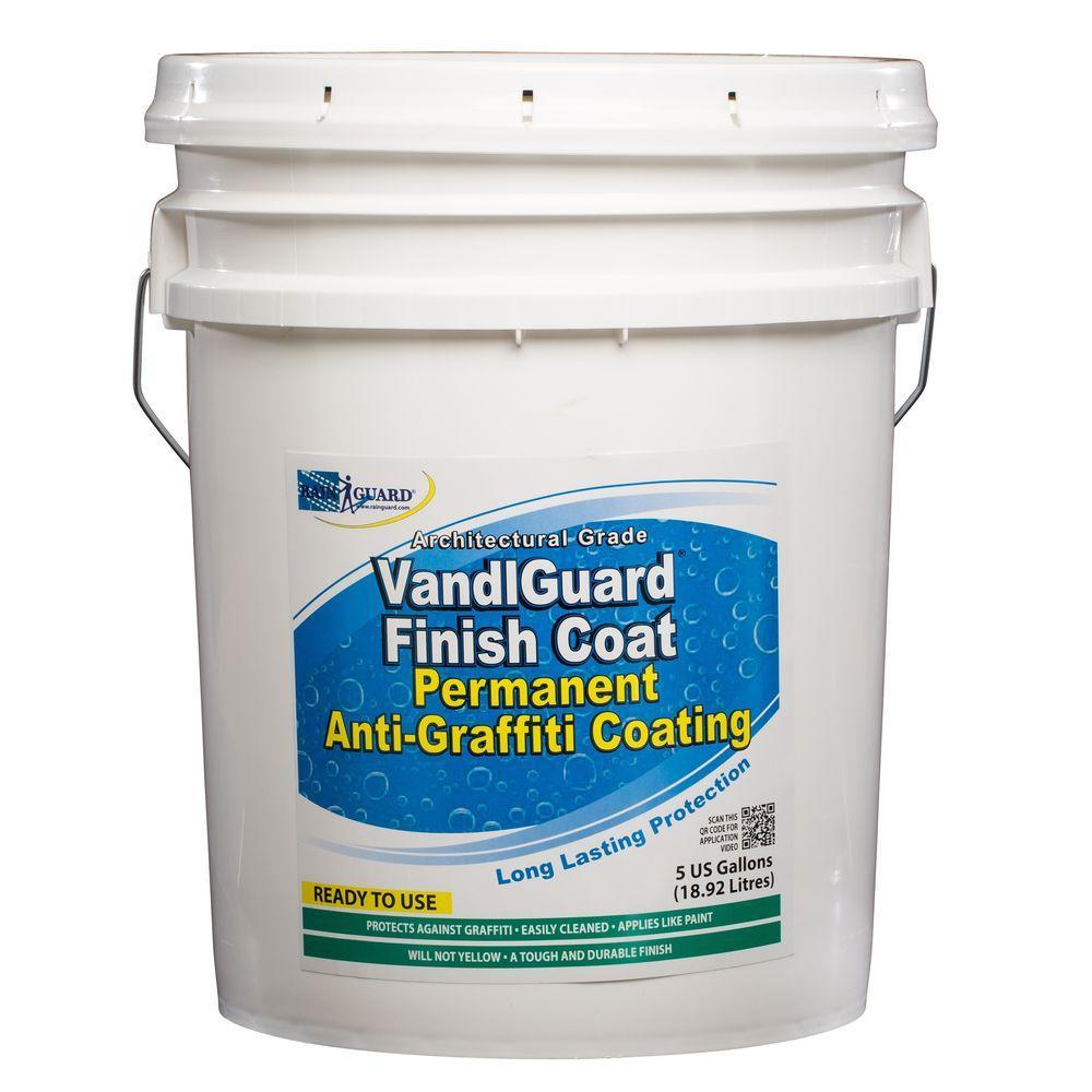 VandlSystem 5 gal. VandlGuard Finish Coat Non-Sacrificial Anti-Graffiti Coating