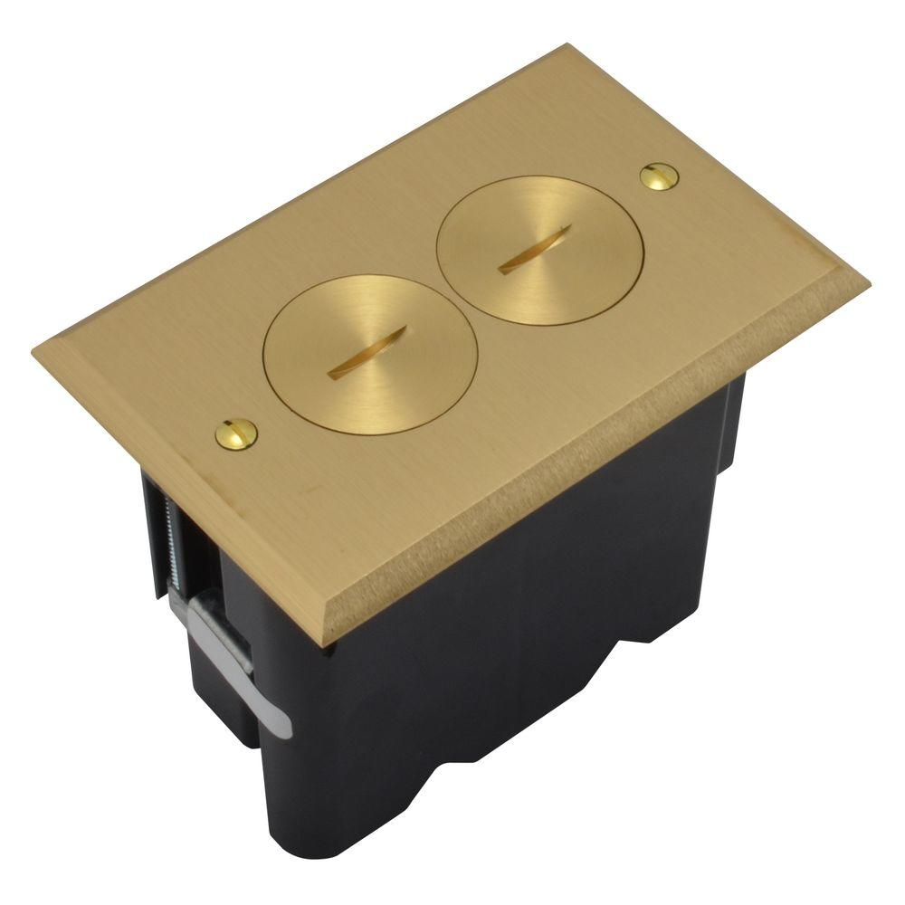 Outlet Residential Ac Floor Box Br