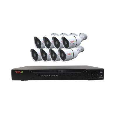 Aero HD 1,080p 16-Channel Video Security System with 8 Indoor/Outdoor Bullet Cameras