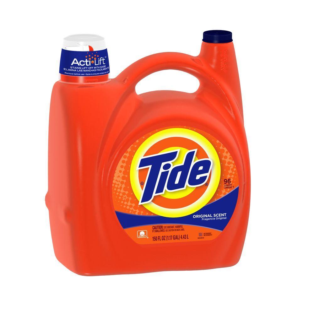 Tide 150 Oz Original Scent Liquid Laundry Detergent 96