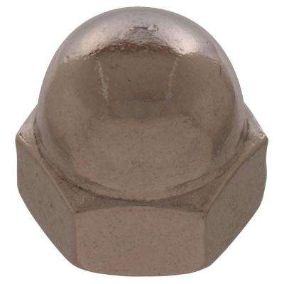 #6 - 32 in. Stainless Steel Acorn Nut (12-Pack)