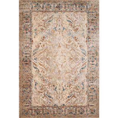 Jules Jasper Taupe 5 ft. 3 in. x 7 ft. 2 in. Area Rug