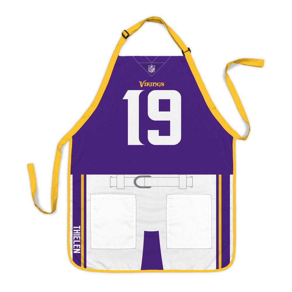promo code 5911a d496b Party Animal Adam Thielen Minnesota Vikings NFL Jersey Apron