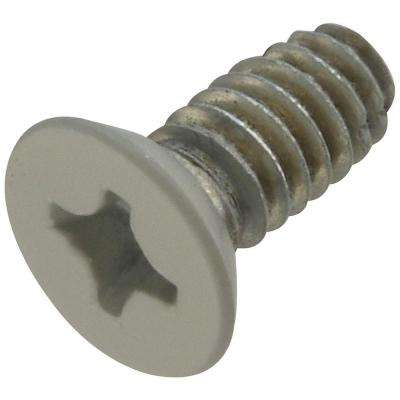 1/2 in. x 12 - 24 Architectural Hinge Screws in Prime Coat white
