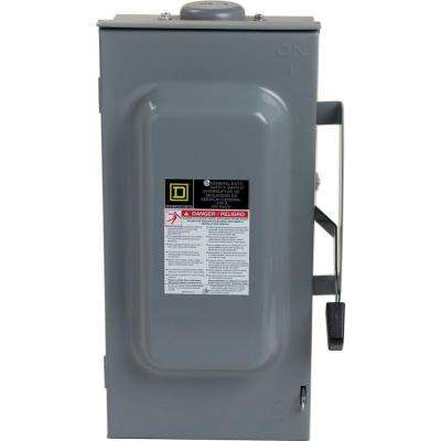 100 Amp 240-Volt 3-Pole 3-Phase Fused Outdoor General Duty Safety Switch