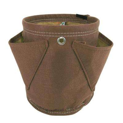 BloemBagz Mini Herb Hanging Planter Grow Bag 1.5 Gallon Chocolate
