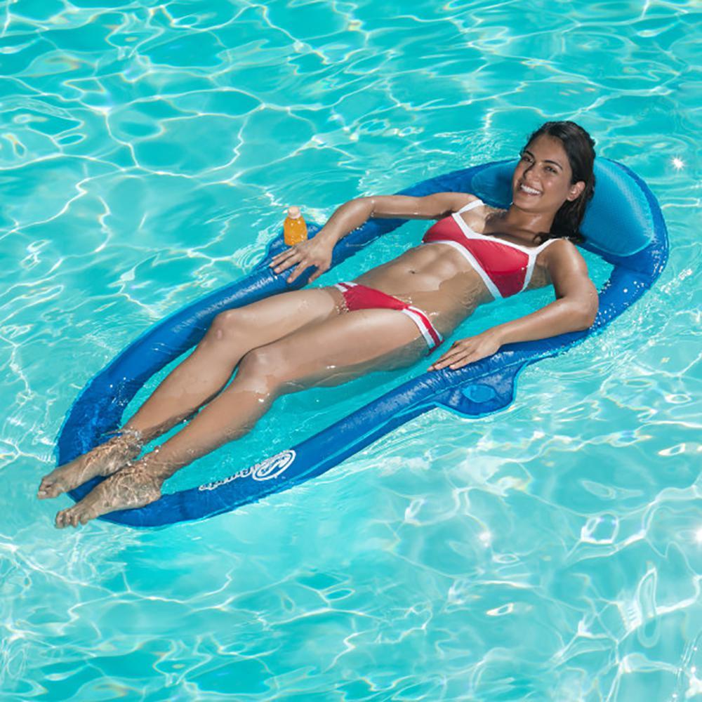 Swimways Color Varies Inflatable Spring Float SunCatcher Hammock Pool Float