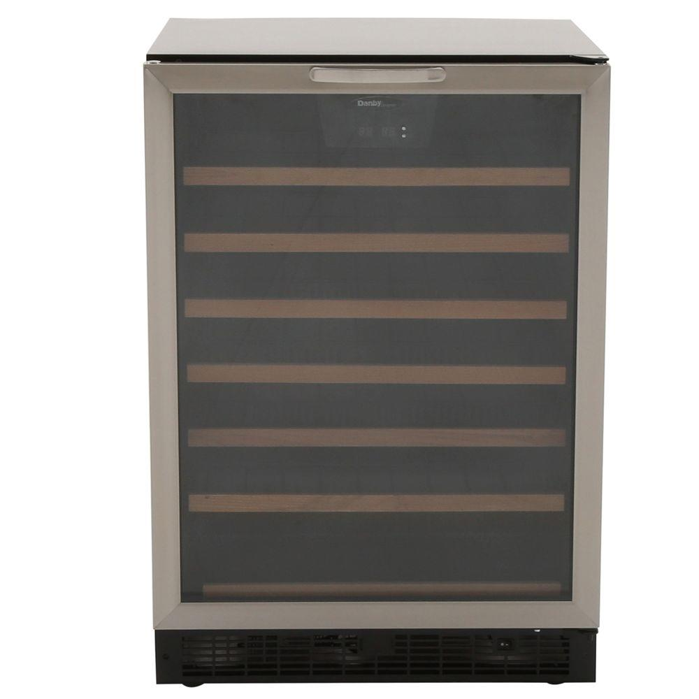 50-Bottle Built-In Wine Cooler