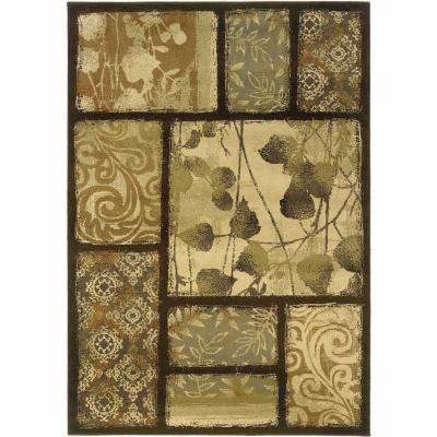 Grace Wyndham Brown 8 ft. x 10 ft. Area Rug