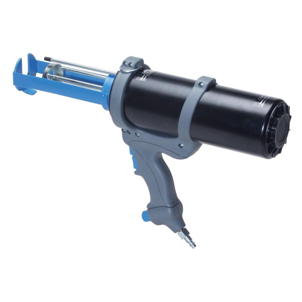 COX 380 ml Co-Axial 10:1 Mix Ratio Dual Cartridge High Power Series 3 Pneumatic Epoxy Applicator Gun