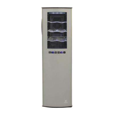 18 Bottle Two Zone Wine Cooler
