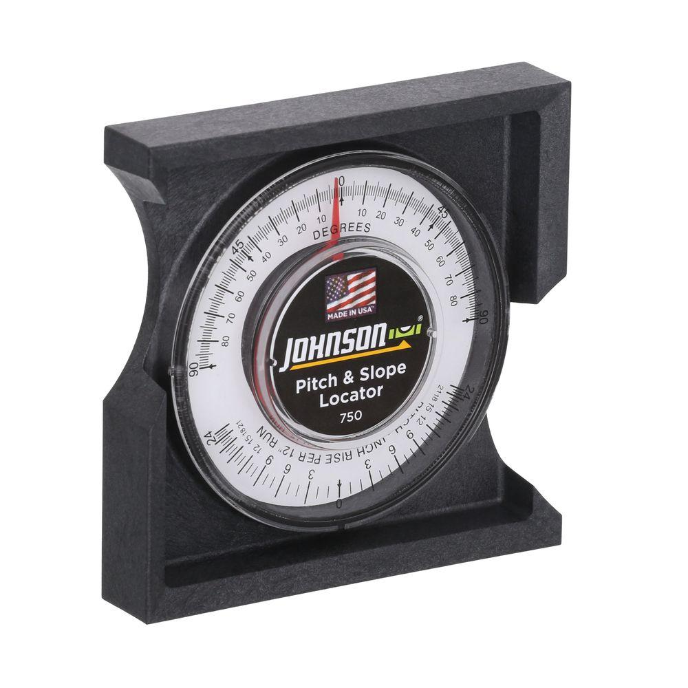 Johnson Pitch And Angle Locator 750 The Home Depot