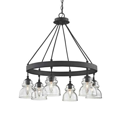 Troy Lighting Copper Mountain 8 Light Copper Mountain Bronze Pendant