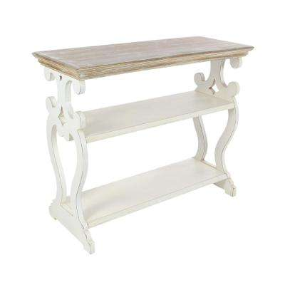 Rustic Classic Wooden Console Table
