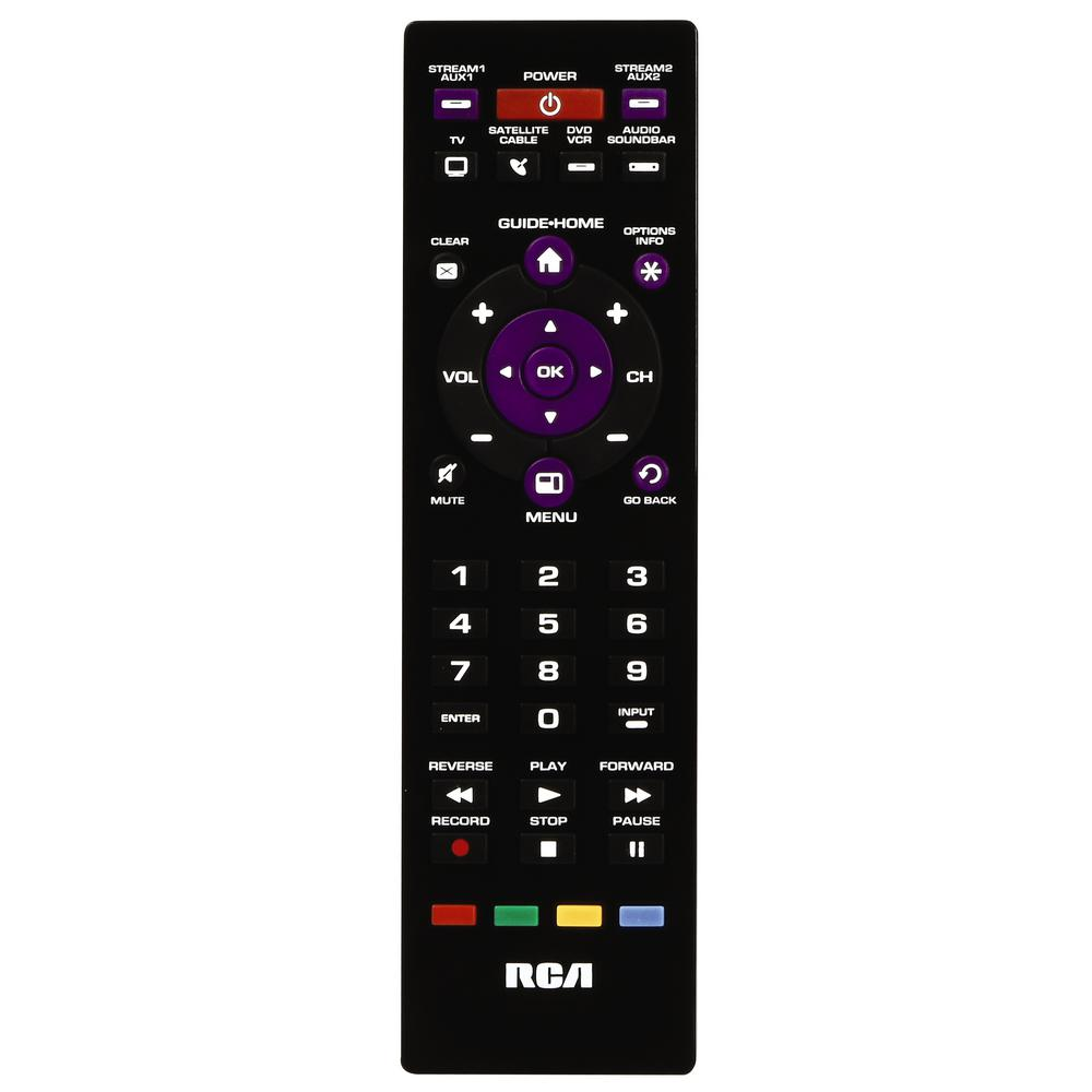 how to find rca remote model