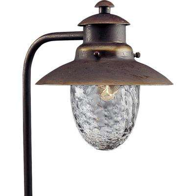 Low-Voltage Antique Bronze Landscape Pathlight
