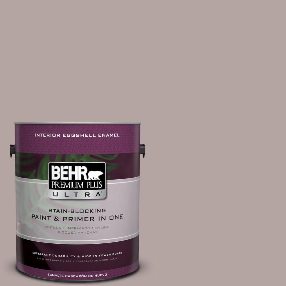 BEHR Premium Plus Ultra Home Decorators Collection 1 gal. #HDC-NT-19 Lavender Suede Eggshell Enamel Interior Paint and Primer in One