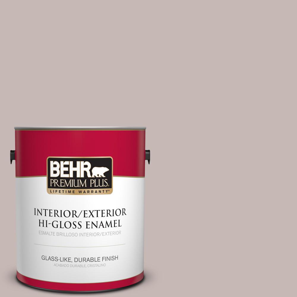1 gal. #HDC-CL-25G Georgian Pink Hi-Gloss Enamel Interior/Exterior Paint