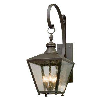 Mumford 5-Light Bronze Outdoor Wall Lantern Sconce