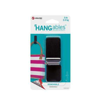 HANGables Large Removable Hook in Black