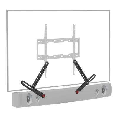 Barkan No Drill Soundbar Mount for Speakers up to 14.3 lbs. Fits 29 in. to 80 in. TVs