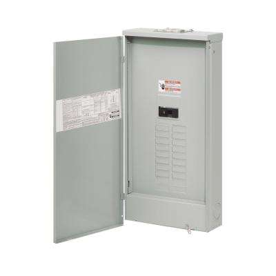 BR 200 Amp 20 Space 40 Circuit Outdoor Main Breaker Loadcenter with Cover