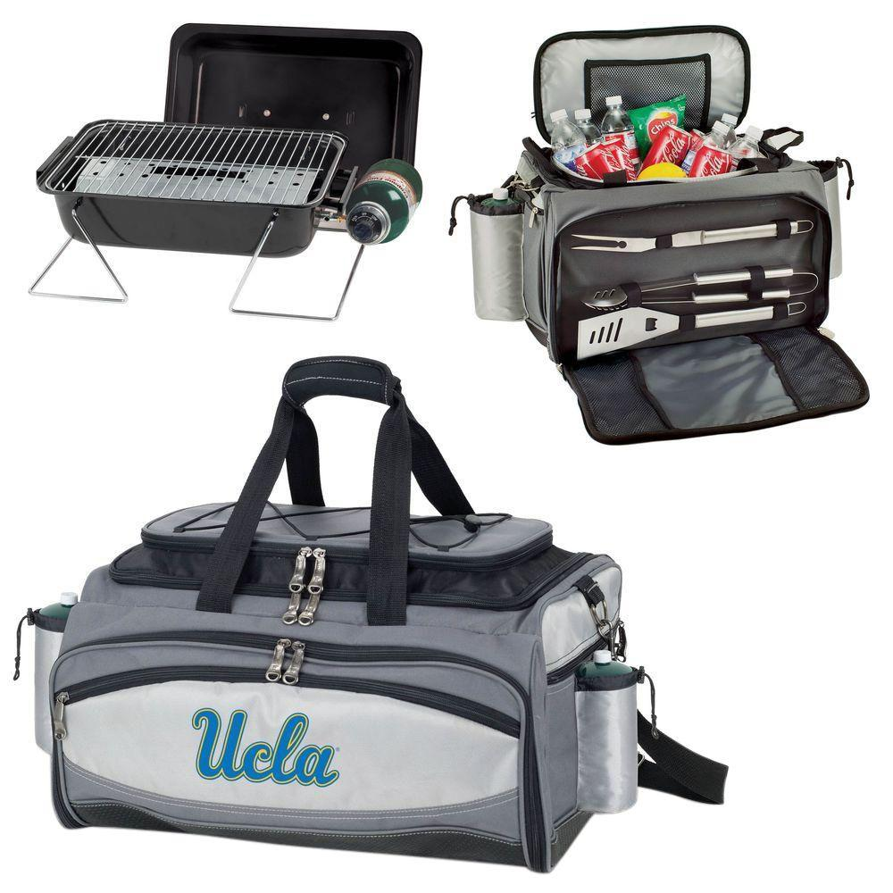 Picnic Time Vulcan Ucla Tailgating Cooler and Propane Gas...