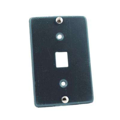6P6C Type 630A Wall Phone Jack, Stainless Steel