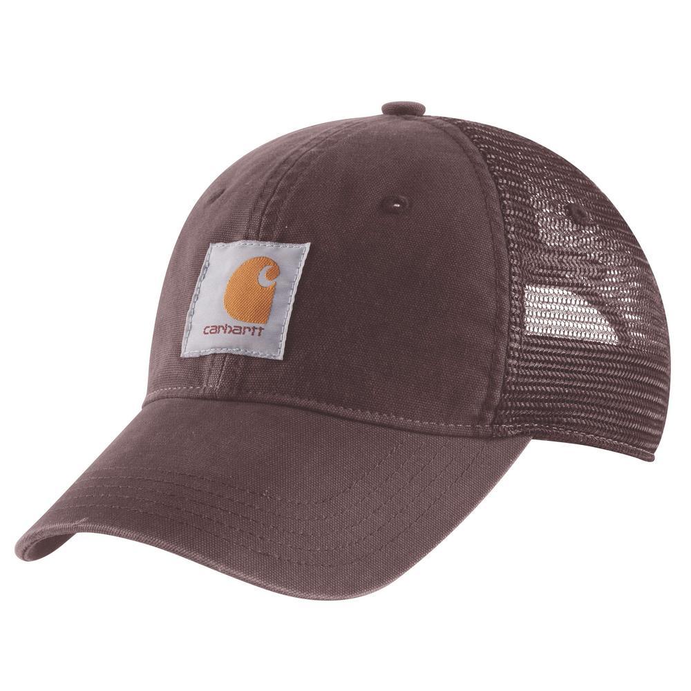d00e2539c9a942 Carhartt Women's OFA Deep Wine Cotton Buffalo Cap