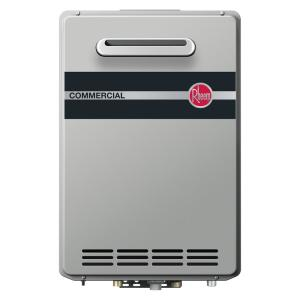 Rheem Commercial 9.5 GPM Liquid Propane Condensing Outdoor Tankless Water Heater by Rheem