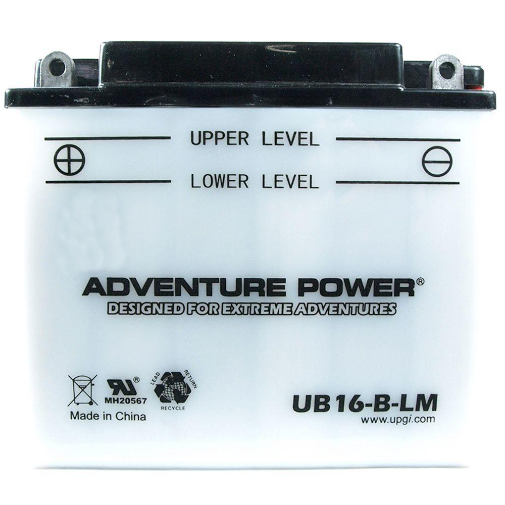 UPG Conventional Wet Pack 12- Volt 19 Ah Capacity F Terminal Battery