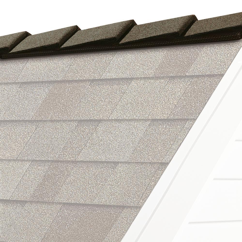 Driftwood Hip And Ridge Asphalt Roofing Shingles 20 Linear