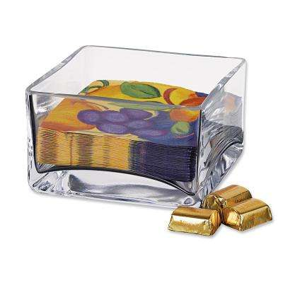 Sahara 5.5 in. x 3.25 in. H Square Cocktail Napkin Holder