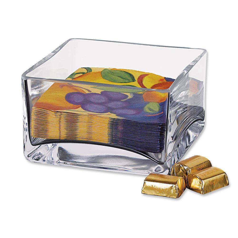 Badash Crystal Sahara 5.5 in. x 3.25 in. H Square Cocktail