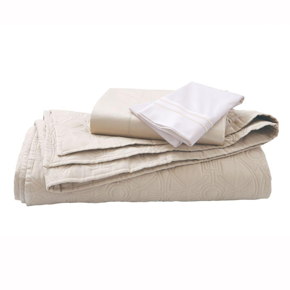 Home Decorators Collection Kenna Windrush King Quilt Set