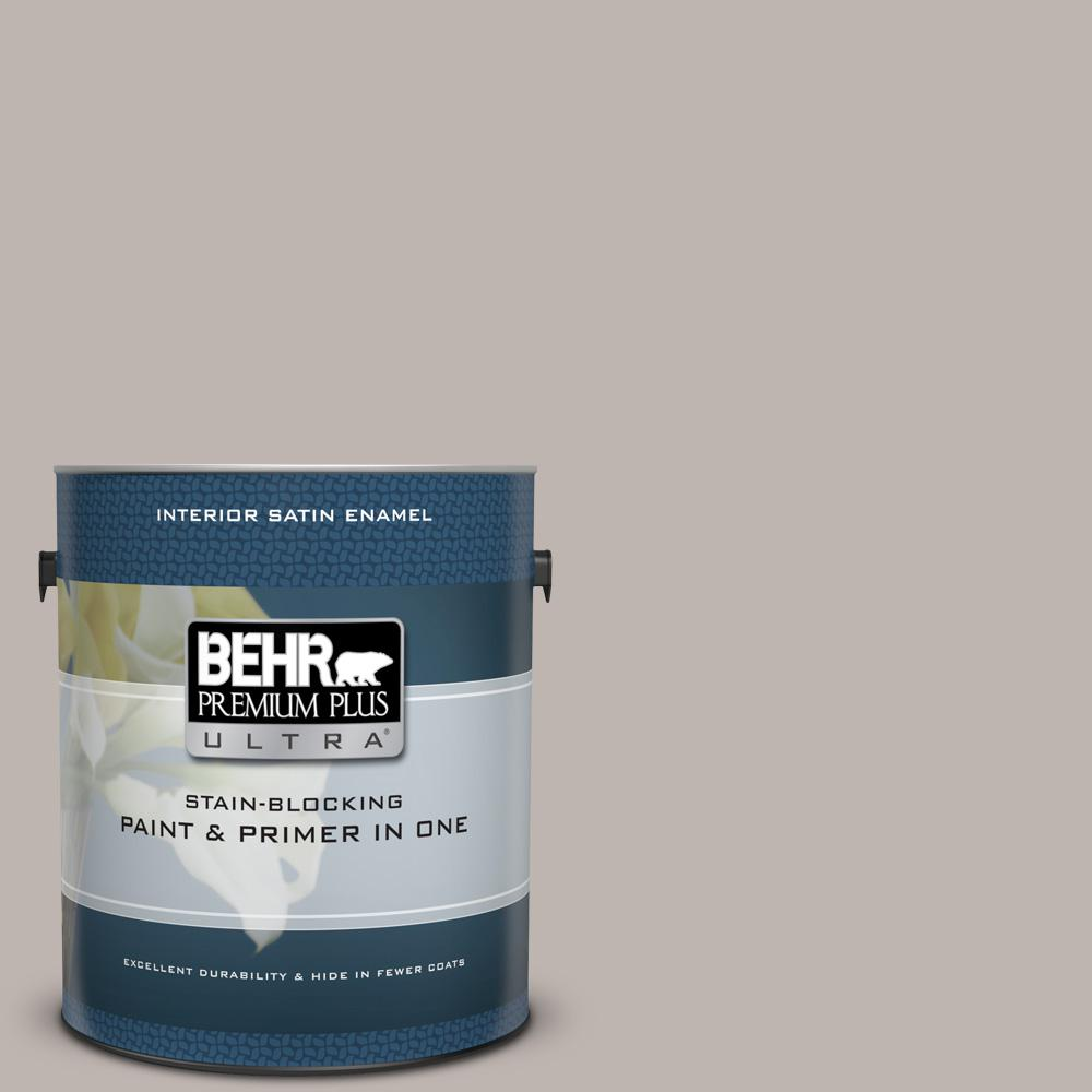 Ul260 10 Graceful Gray Satin Enamel Interior Paint And Primer In One