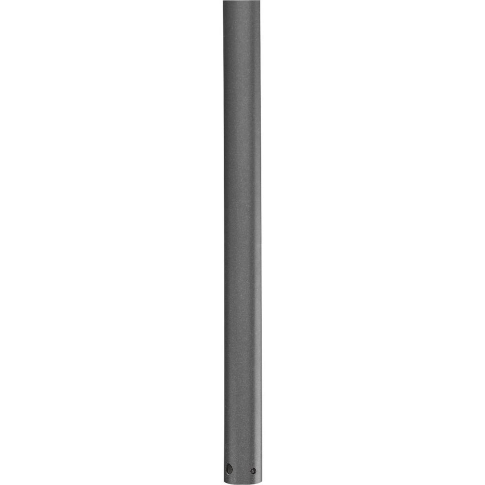 Progress Lighting AirPro Collection 24 in. Graphite Extension Downrod