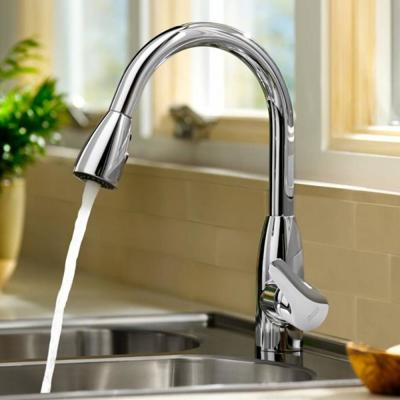Colony Soft Single-Handle Pull-Down Sprayer Kitchen Faucet 1.5 GPM in Polished Chrome