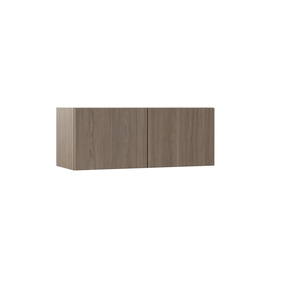 Hampton Bay Designer Series Edgeley Assembled 30x12x12 In Wall