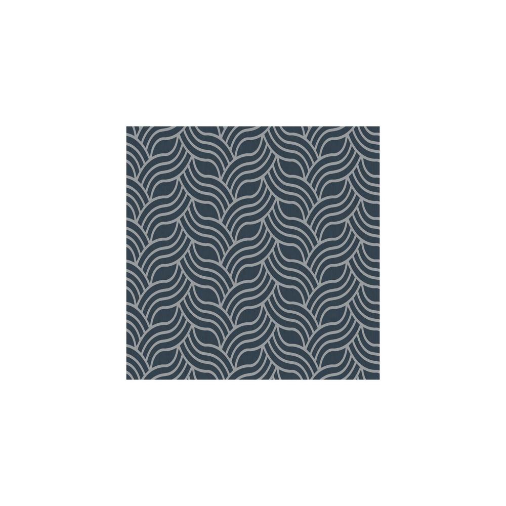 Dazzling Dimensions Interlocking Geo Wallpaper