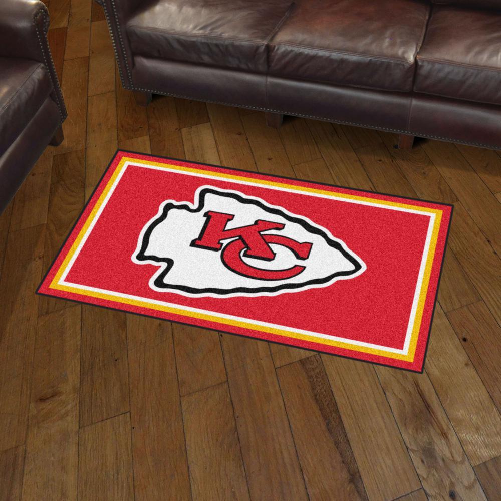 Fanmats Nfl Kansas City Chiefs 3 Ft