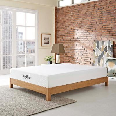 Aveline 10 in. Queen Mattress in White